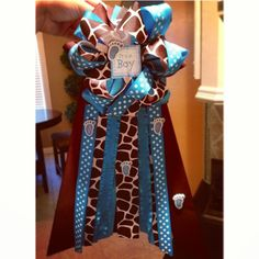 Baby shower mum for boy