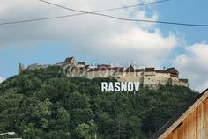 14th century old fortress of Rasnov. Located at about 15 km from the city of Braşov and about the same distance from Bran, on the road that links Wallachia and Transylvania. In 2002, the Râșnov Citadel and surroundings were used during the shooting of several scenes from the American film Cold Mountain. Visit Transylvania http://www.hellotransylvania.com - http://www.ciaobucarest.it