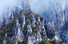 Kanjon reke Jerme, południowo-wschodnia serbia, na granicy z Bułgarią