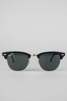 Ray Ban Sunglasses Clubmaster Sunglasses in Ebony $145 at www.tobi.com