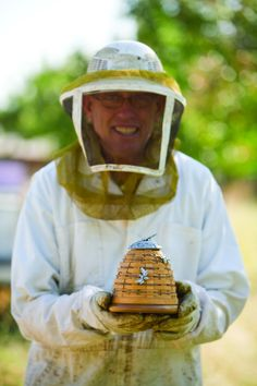 Even Bee Keepers love this 2010 Longaberger Collectors Club Bee Hive Basket.