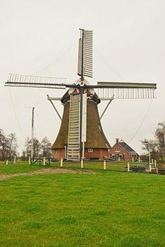 Polder mill De Eendracht, Sebaldeburen, the Netherlands