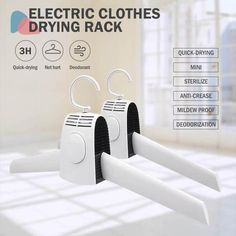 (Limited Time OFF)Multifunction Electric Clothes Drying Rack Clothes Drying Racks, Clothes Dryer, Clothes Line, Clothes Hanger, Led Closet Light, Horizontal Blinds, Shampoo Bar, Pli, Traveling By Yourself