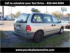 2000 Chrysler Voyager Used Cars Pensacola FL Pensacola Florida, Florida Fl, Chrysler Voyager, Driving Test, Used Cars, Trucks, Adventure, Vehicles, Youtube