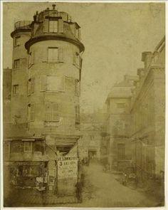 Préfecture de Police, quai des Orfèvres, rue de Jérusalem, Paris (Ier arr.). 1850-1870. Photographie anonyme. © Musée Carnavalet - Histoire de Paris
