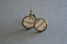Wizard and Muggle Earrings