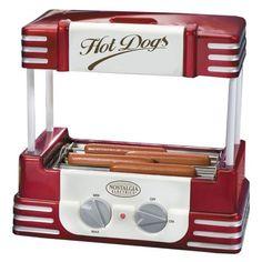 Nostalgia Electrics™ RHD-800 Retro Hot Dog Roller $49.99.    #therafitgives #Therafit, www.therafitshoe.com