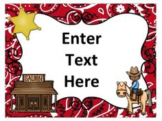 Seriously, all 14 of these EDITABLE posters are too cute! Perfect for my western classroom theme this year! Can't wait to use these for everything! Cowboy Theme, Western Theme, Cowboy And Cowgirl, Cowboy Party, Beginning Of School, New School Year, First Day Of School, School Themes, Classroom Themes