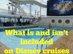 What's included on Disney cruises (and what isn't)