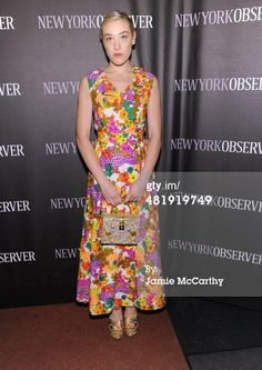 News Photo: Mia Moretti attends The New York Observer Relaunch…