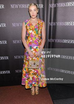News Photo: Mia Moretti attends The New York Observer Relaunch…