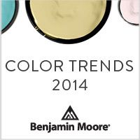Benjamin Moore Color Trends 2014
