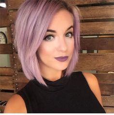A Purple Lilac Hair Color Formula - Hair Color - Modern Salon