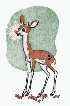 Did you know that Rudolph was originally written as a sales ploy for Montgomery Ward? It was written by Robert May in 1939.