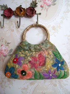 Quilted purse by marytequilts on Etsy
