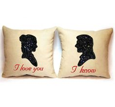 BOGO FREE! Set, Star Wars Han Solo and Princess Leia love Machine applique Embroidery Designs, Star Wars applique Embroidery Designs, #007 by KateQuickNeedle on Etsy