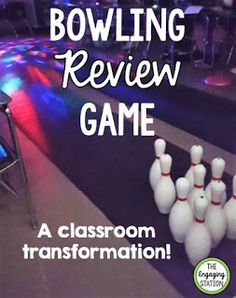 Need a fun way to review information? Give your kids a bowling ball, some pins, and a disco light, and you'll have a SUPER engaging review session ready to go! The best thing about it? This transforma