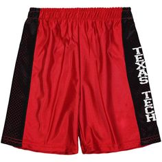 Texas Tech Red Raiders Youth Mesh Basketball Shorts - Red - $29.99