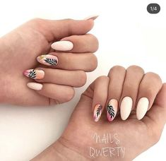 Top 60 Easy Nail Designs For Short Nails Classy Nails, Stylish Nails, Fancy Nails, Simple Nails, Nail Art Cute, Pretty Nail Art, Summer Acrylic Nails, Cute Acrylic Nails, Hot Nails