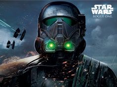 Rogue One artwork - death trooper glow