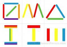 Clothespins, spatulák és a matematika - óvodai - Maam. Oral Motor Activities, Montessori Activities, Educational Activities, Preschool Activities, Preschool Writing, Preschool Worksheets, Learn Arabic Alphabet, Busy Boxes, Study Skills
