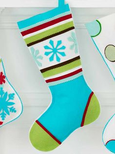 18 Easy Handmade Christmas Stockings  Add a personal touch to your holiday decor with Christmas stockings you create yourself. From no-sew to a little embroidery, we'll help you hang a stocking that Santa can't wait to fill.