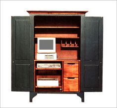 Green River Computer Cabinet