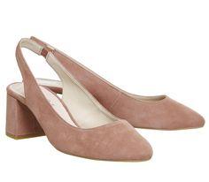 Marvellous Slingback Block Heels