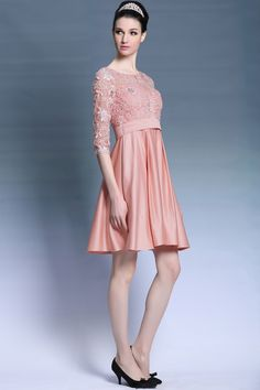Chelsea Long Sleeved Charming Cocktail Prom Dress...wear to WOW!  avana-collection.com