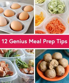 Find out how to save time in the kitchen with these ingenious meal prep tips from our friends at @dailyburn.