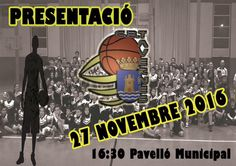 El proper 27 novembre presentació del C.B Tavernes