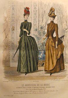 1885 Moniteur de la Mode