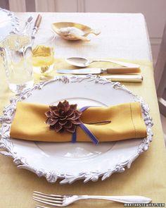 Sencillo y agradable para un almuerzo de Año nuevo