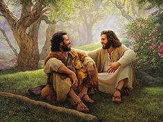 The Way of Joy Art Print by Greg Olsen. All prints are professionally printed, packaged, and shipped within 3 - 4 business days. Church Pictures, Old Pictures, Greg Olsen Art, Salvador, Jesus Smiling, Christian Artwork, Christian Paintings, Pictures Of Jesus Christ, Joy Art