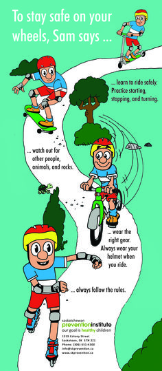 Download bicycle safety packets #eSpokes #bikes #bikesafety
