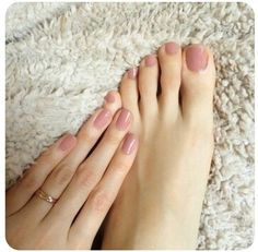Neutral pink.