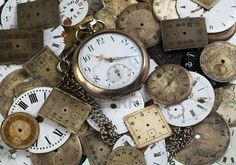 Old clock faces