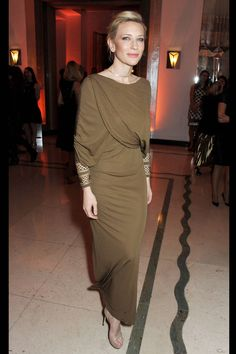 Cate Blanchett at Bazaar UK's Women of the Year Awards