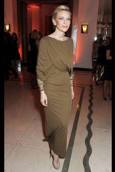 Cate Blanchett at Bazaar UK's Women of the Year Awards