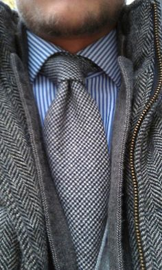 In the best of all possible worlds, my tie dimple would look like this EVERY TIME.