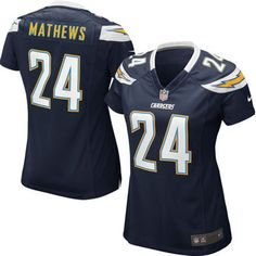 Ryan Mathews San Diego Chargers Nike Women's Game Jersey