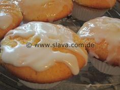 Fruchtig lockere Zitronen – Muffins | kochen & backen leicht gemacht mit Schritt für Schritt Bilder von & mit Slava
