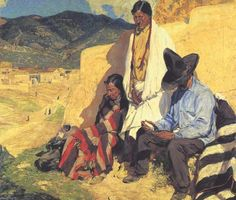 """Gallery Guide 2011: Walter Ufer, """"Land of Manana"""", collection of Union League Club of Chicago"""