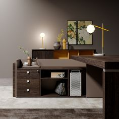 Sessanta / new finishes - Prof Office Home Office Space, Office Desk, Corner Desk, House, Infinite, Furniture, Solid Colors, Woods, Environment
