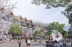 nhà phố thương mại dự án Sapa Jade Hill #duansapajadehill #bietthusapajadehill #nhaphosapajadehill