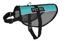 Dogline 30'-38' MaxAire Mesh Vest for Dogs and 2 Removable Pet Me Patches ** You can get additional details at the image link. (This is an Amazon affiliate link)