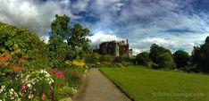 El castillo de Birr, nuestra primera foto panorámica en Irlanda