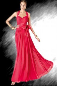 שמלת ערב אדומה P812