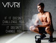 """""""Si no te reta, no te cambiará""""  #VIVRI #motivación #motivation #LoveLiving"""