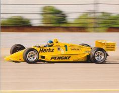 Al Unser - Hertz Penske PC-17 Chevy A - Penske Racing - Indianapolis 500-Mile Race 1988 - 1988 PPG Indy Car World Series, round 3